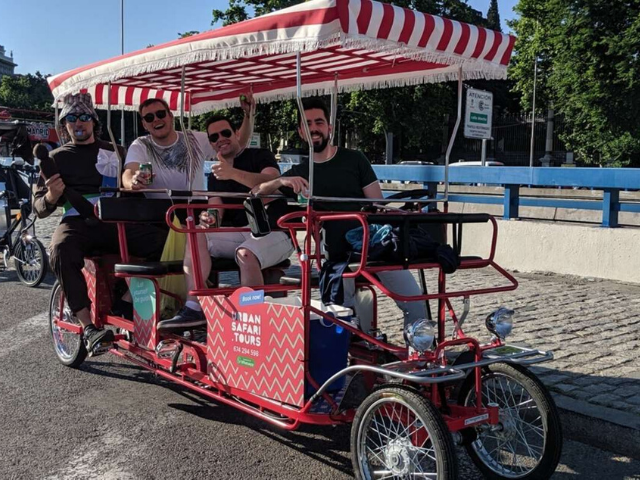 Beer Bike Madrid
