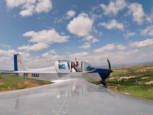 Pilot Flight Experience in Madrid