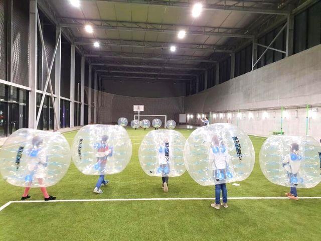 Bubble Football Madrid